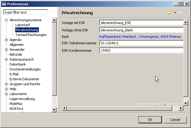 Ch.elexis.privatrechnung.feature.feature.group – Elexis-Wiki